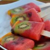 Delicious Healthy Fruit Popsicles