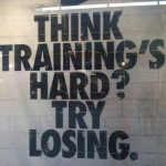 Think Training is Hard…
